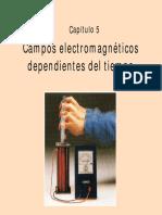 Capítulo 5 Campos electromagnéticos dependientes del tiempo