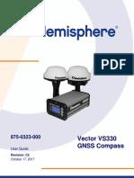 Hemisphere vs 330 875 0323 000 c2 Vectorvs330gnsscompass Userguide