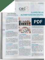 Claves de La Alfabetización Digital