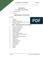 Co Operative Societies Act 2005