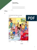 Centro de Idiomas - Placement Test Niños 4-5