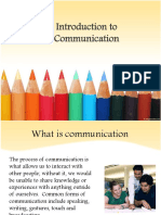 Communication Intro