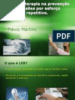 A Mecanoterapia na prevenção de Lesões por esforço.ppt