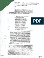 Checa Cremades - Análisis de Un Fragmento de La Soledad Segunda de Luis de Góngora[1]