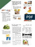 Leaflet Diet Nutrisi Pd Penderita Kanker