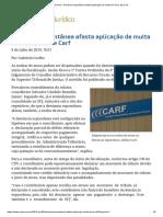 ConJur - Denúncia Espontânea Afasta Aplicação de Multa de Mora, Diz Carf