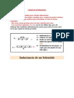 Cálculo de La Inductancia