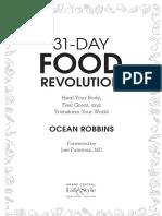 31 food revolution