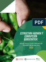 ESTRUCTURA AGRARIA Y CORRUPCIÓN BUROCRÁTICA RETOS PARA LA AUTORIDAD DE TIERRAS DE LA NACIÓN.pdf