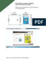 Desarrollo Actividad 2 Electrotecnia y Medidas