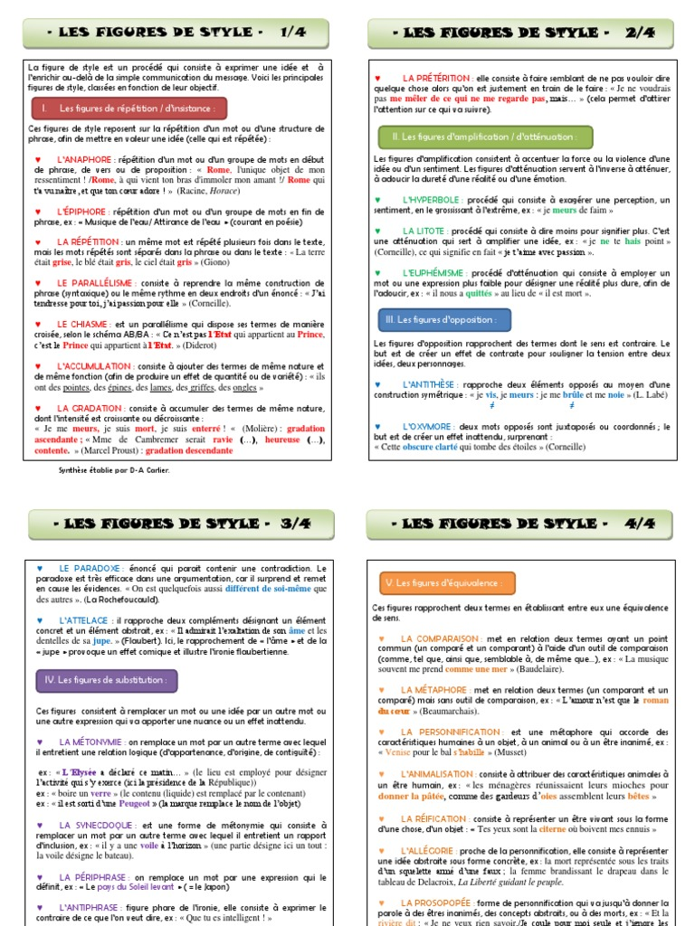 les-figures-de-style-1.pdf   Figures de style   Métaphore