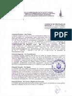 Contrato firmado entre empresa de manutenção e Corpo de Bombeiros Militar do DF