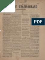 O Norte Transmontano _ Semanario Progressista _ Propr. e Ed. Pires Avellanoso