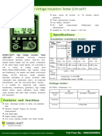 GREEN-WATT High Voltage Insulation Tester (GW-5KP).pdf