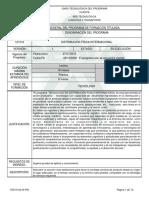 programa de formación DFI