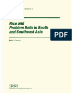 Rice and Problem Soils in South and Southeast Asia