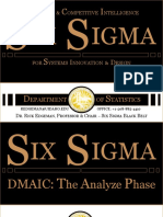 Six Sigma DMAIC Analyze