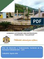 DIAGNOSTICO de LA ACTUALIZACION DEL Plan de Desarrollo y Ordenamiento Territorial de La Parroquia Valladolid_13!10!2015!09!17-42