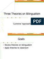 bilingual theory