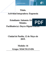 Álvarez Méndez Salomon M16S3 Eugenesia