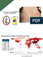 Ppt Acciones Sarampion Inmunizaciones f2018