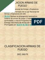 Legislacion Armas de Fuego
