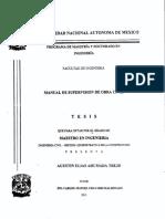 Manual Supervisor de Ingenieria Civil