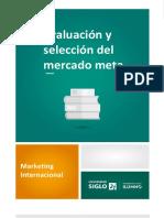 MODULO 3- TEMA 4- Evaluación y Selección Del Mercado Meta REVISADO