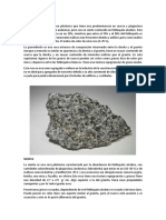 Granodiorita , sienita , gabro