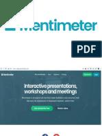 mentimeter-使用