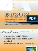 ISO 27001_ISMS Training Material