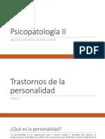 Psicopatología II Semana 1