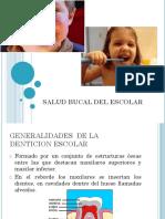 Clase 7 Salud Bucal,Postural,Mental Del Escolar