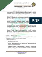 1.- Tdr de Capacitacion Para Asistente Tecnico