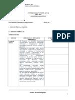 Pauta de Evaluación Anual Comunicacion