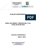 7123 Plan de Contingencia Ferias y Fiestas 2018