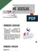 MODULO V - PRIMEROS AUXILIOS.pptx