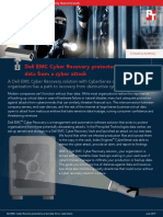 Dell EMC Cyber Recovery protected our test data from a cyber attack - Summary