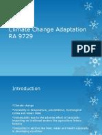 Climate Change Adaptation