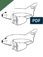 Dibujo de Avión