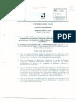 Rca 074 2008 Mod. Estructura Curricular Estudios Políticos