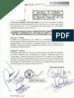 Proyecto de Ley N° 4420, que establece que el Ministerio de Economía y Finanzas informe al Congreso de la República sobre el cumplimiento del reajuste periódico de las pensiones a los jubilados.