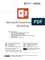 0209 Microsoft Powerpoint 2013 Workshop