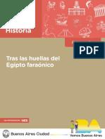 Profnes Historia Tras Las Huellas Del Egipto Faraonico - Docente - Final