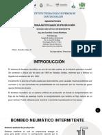 BOMBEO INTERMITENTE PRESENTACIÓN