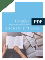Netzwerk Bücher Kat 2017-18
