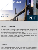 Pontes e Viadutos Gideão César e Artur Ribeiro