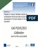 ILAC P10:01