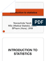 1.Introduction of Statistics