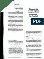 Perez Barbosa- Primeras Entrevistas (1)